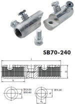 Split-bolt SB